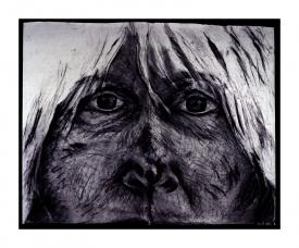 silenced, drawing by Pam Taggart