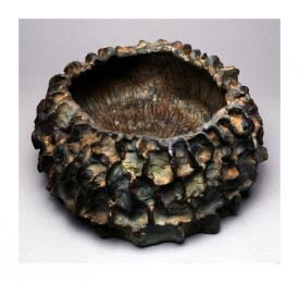 nancy, ceramic vessel by Pam Taggart