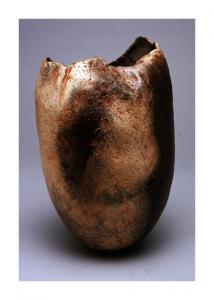 untitled, ceramic vessel by Pam Taggart